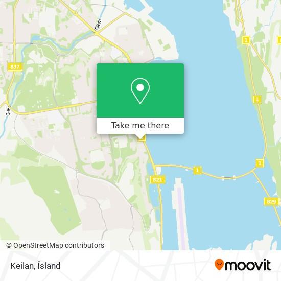 Keilan map