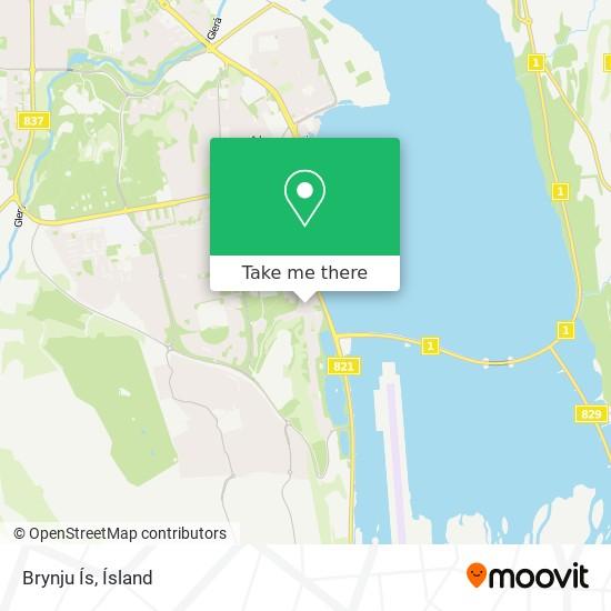 Brynju Ís map