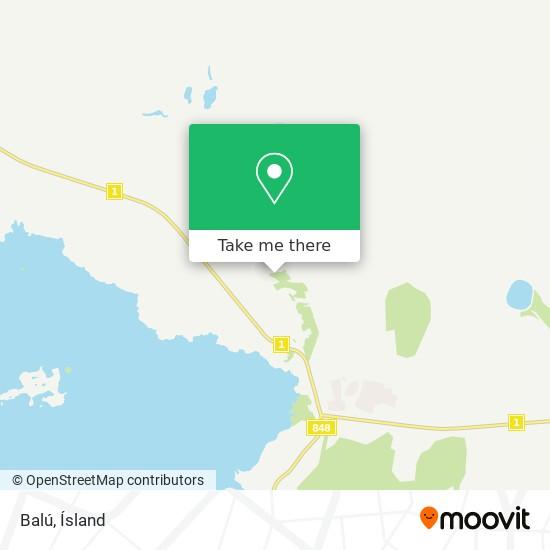 Balú map