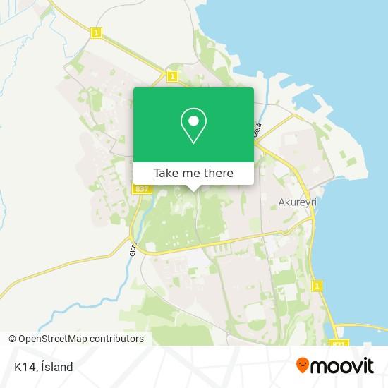 K14 map