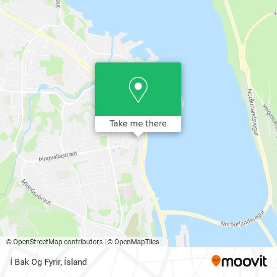 Í Bak Og Fyrir map