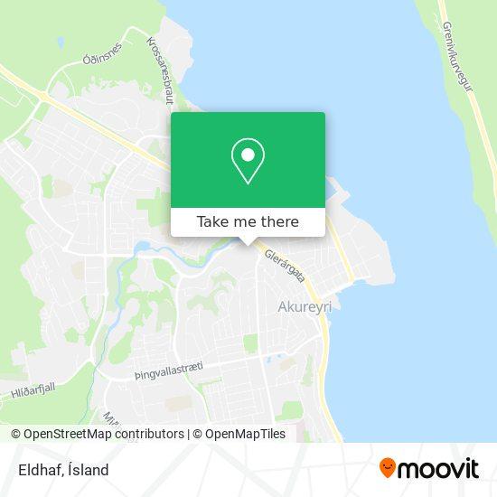 Eldhaf map