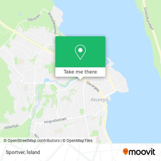 Sportver map