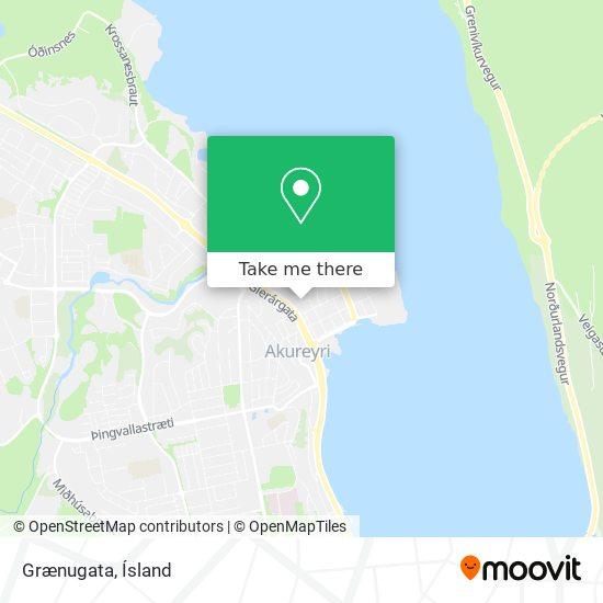 Grænugata map