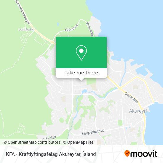 KFA - Kraftlyftingafélag Akureyrar map