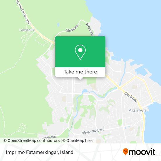 Imprimo Fatamerkingar map