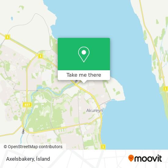 Axelsbakery map