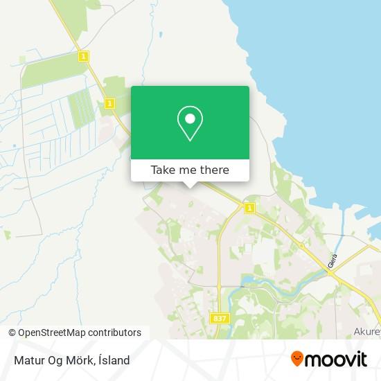 Matur Og Mörk map