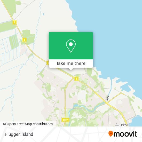 Flügger map