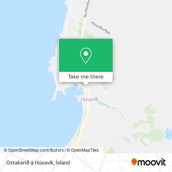 Ostakerið á Húsavík map