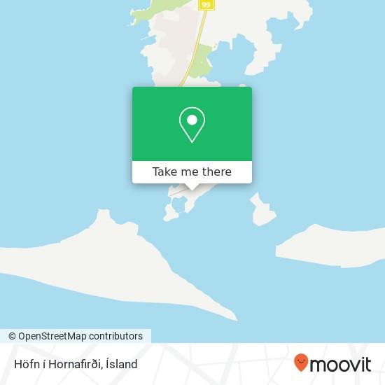 Höfn í Hornafirði map