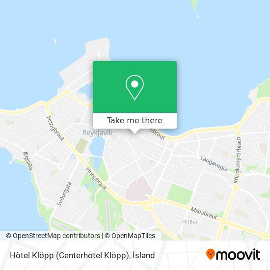 Hòtel Klöpp (Centerhotel Klöpp) map
