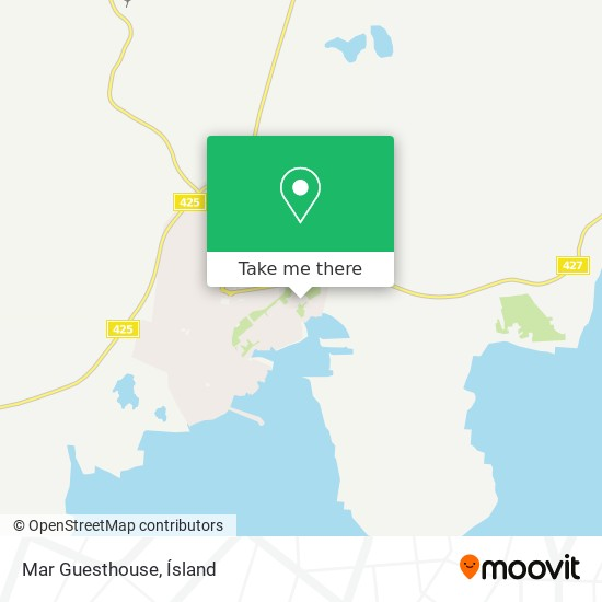 Mar Guesthouse map