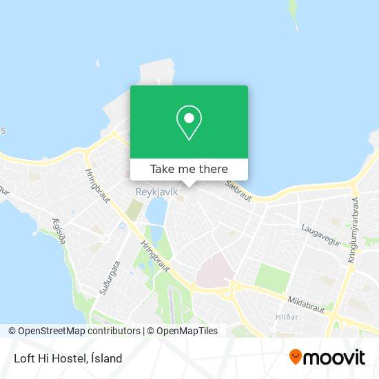 Loft Hi Hostel map