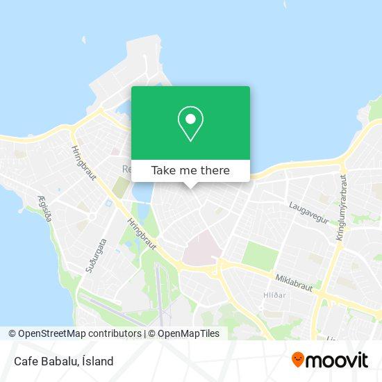 Cafe Babalu map