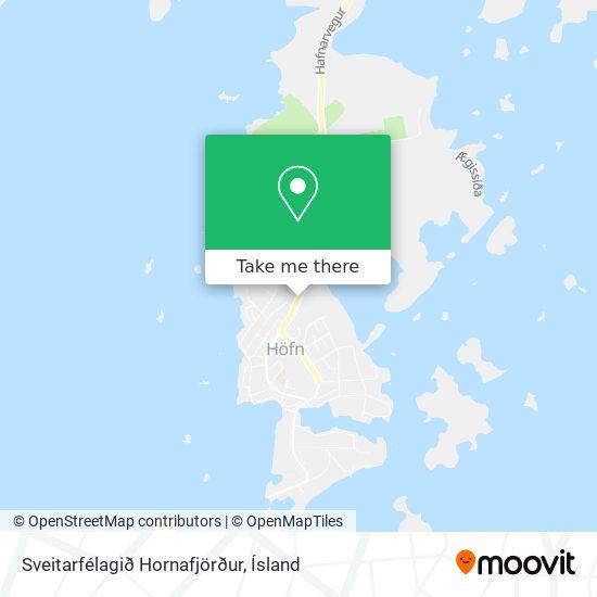 Sveitarfélagið Hornafjörður map