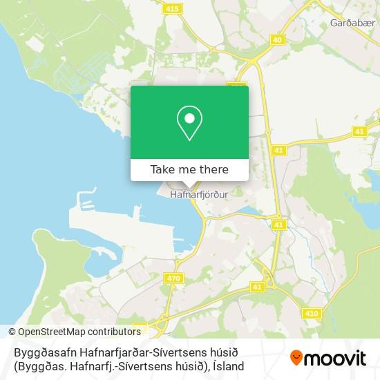 Byggðasafn Hafnarfjarðar-Sívertsens húsið (Byggðas. Hafnarfj.-Sívertsens húsið) map