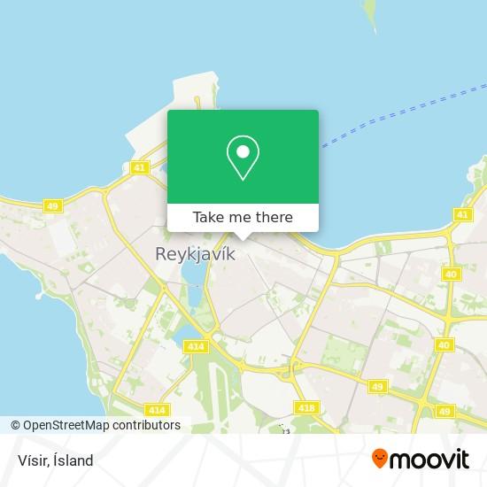 Vísir map