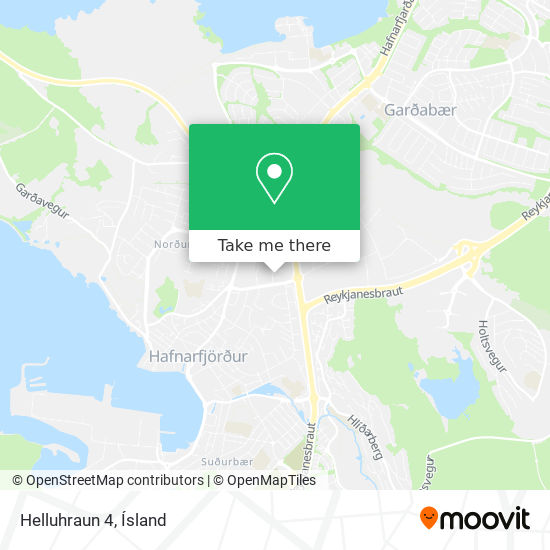 Helluhraun 4 map