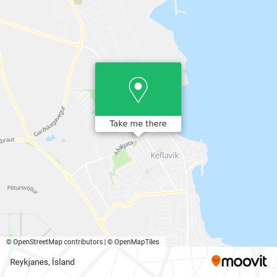 Reykjanes map