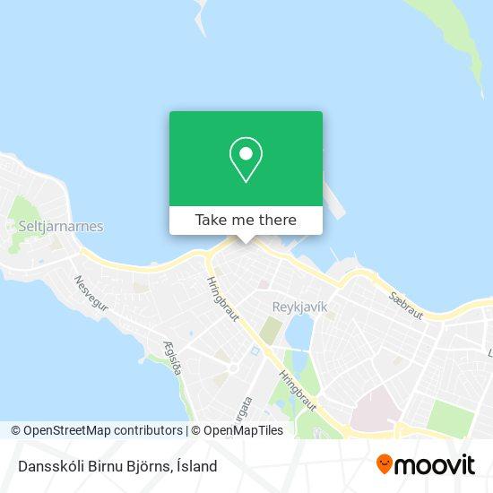 Dansskóli Birnu Björns map