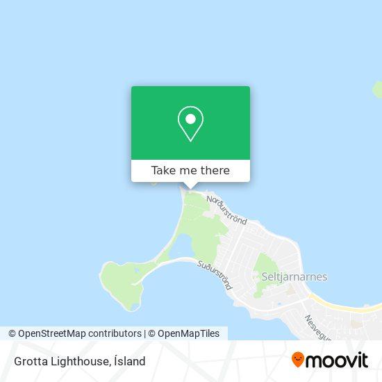 Grotta Lighthouse map