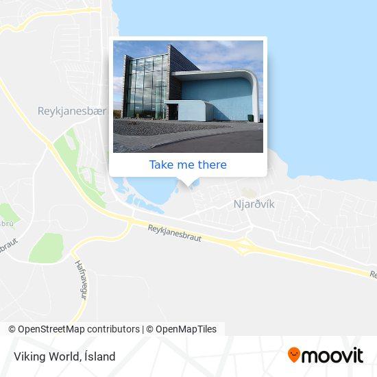 Viking World map