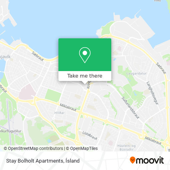 Stay Bolholt Apartments map