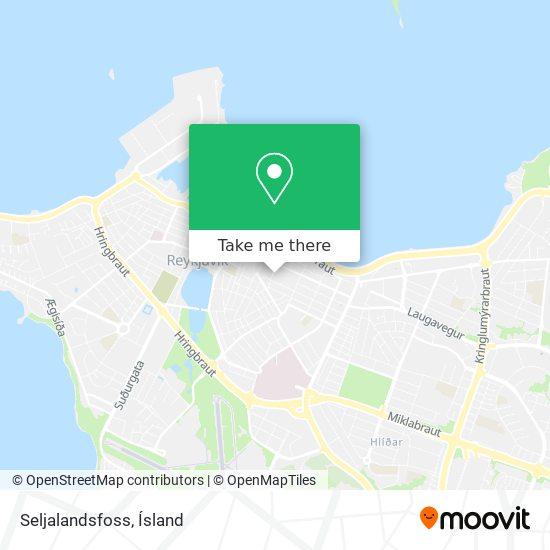 Seljalandsfoss map