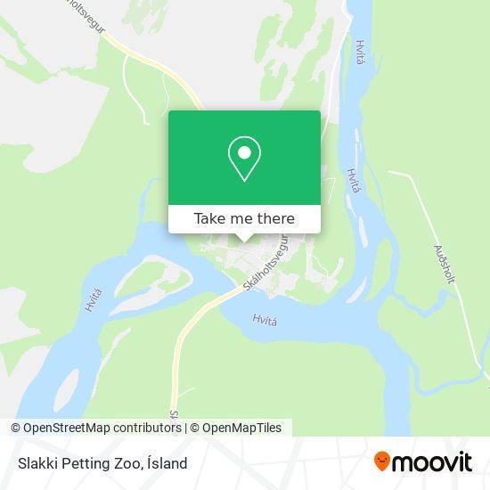 Slakki Petting Zoo map