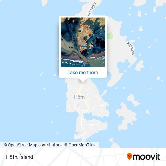 Höfn map