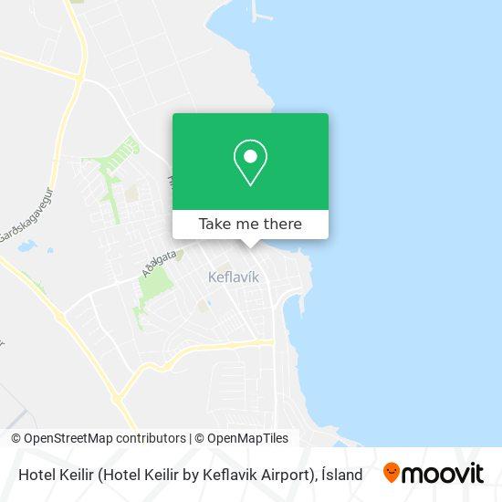 Hotel Keilir (Hotel Keilir by Keflavik Airport) map