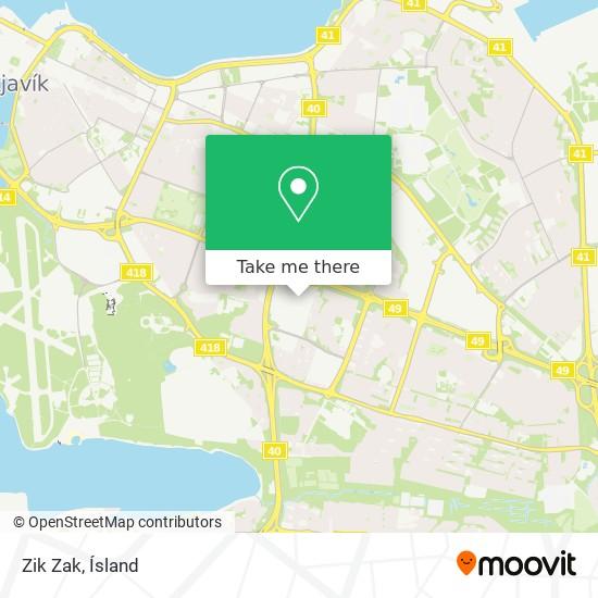 Zik Zak map