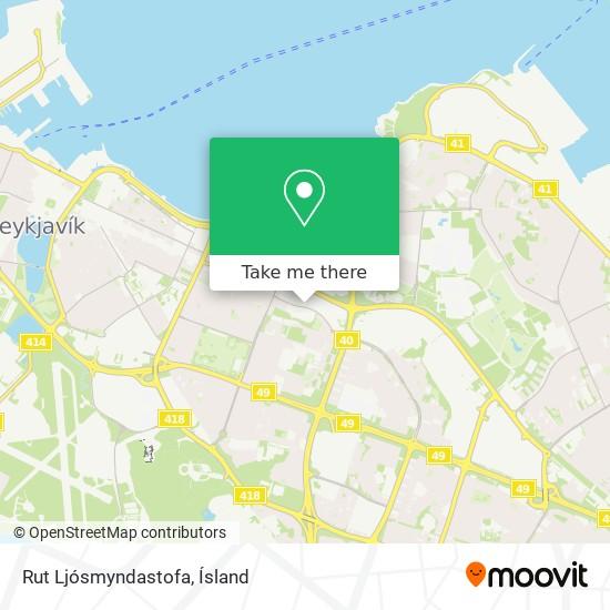 Rut Ljósmyndastofa map