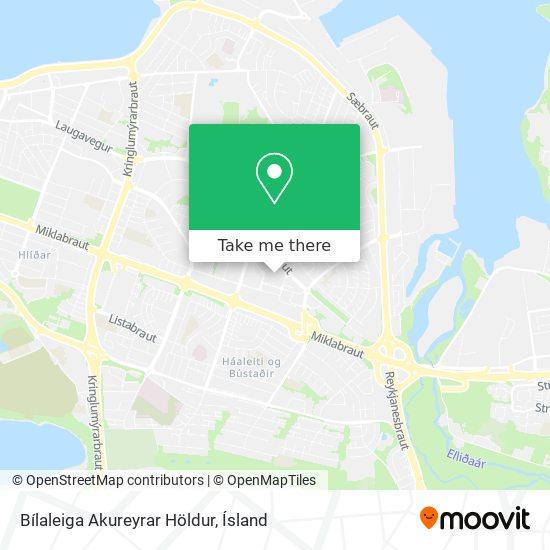 Bílaleiga Akureyrar Höldur map