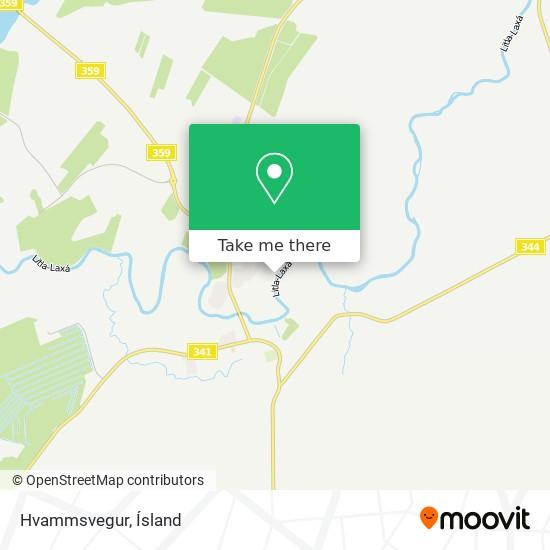 Hvammsvegur map
