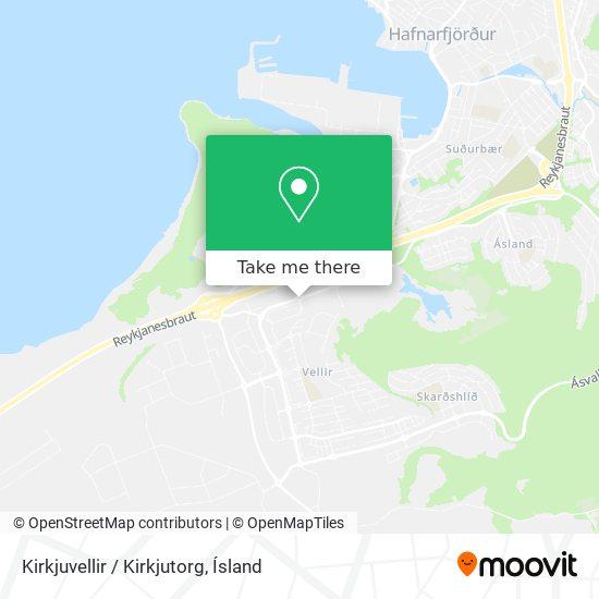 Kirkjuvellir / Kirkjutorg map