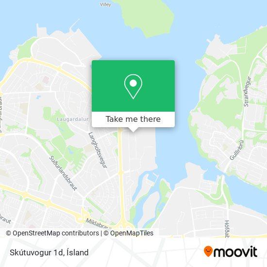 Skútuvogur 1d map