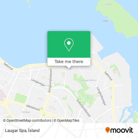 Laugar Spa map