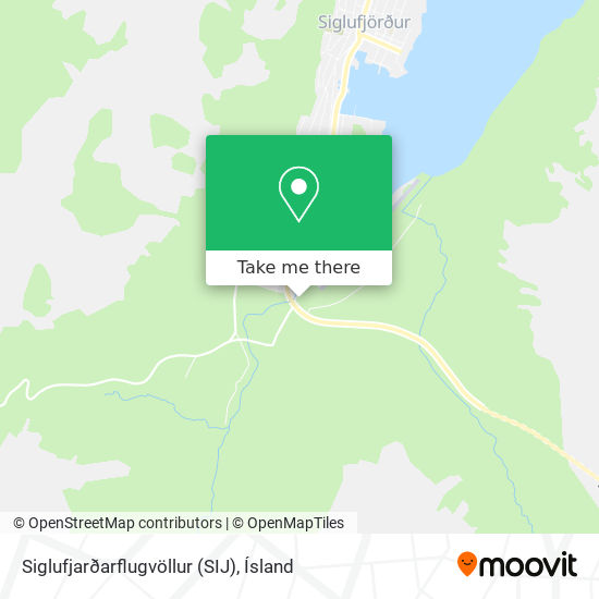 Siglufjarðarflugvöllur (SIJ) map