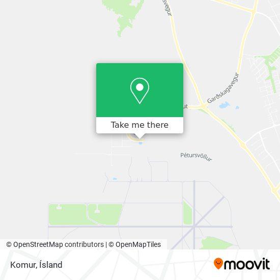 Komur map
