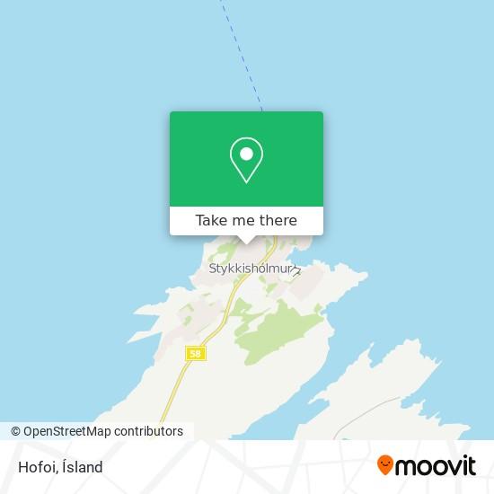Hofoi map
