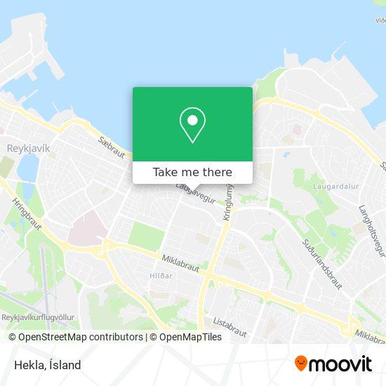 Hekla map