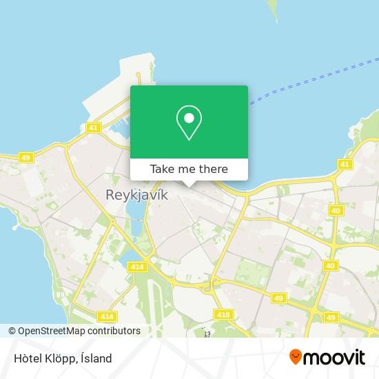 Hòtel Klöpp map