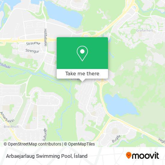 Arbaejarlaug Swimming Pool map