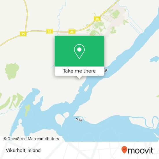 Víkurholt map