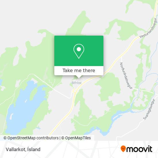 Vallarkot map