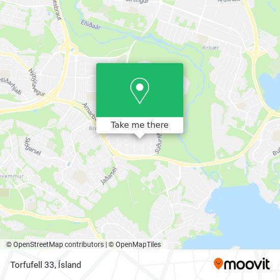 Torfufell 33 map