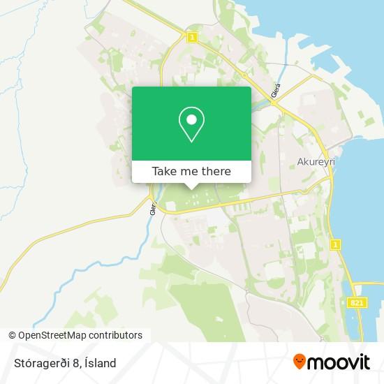 Stóragerði 8 map