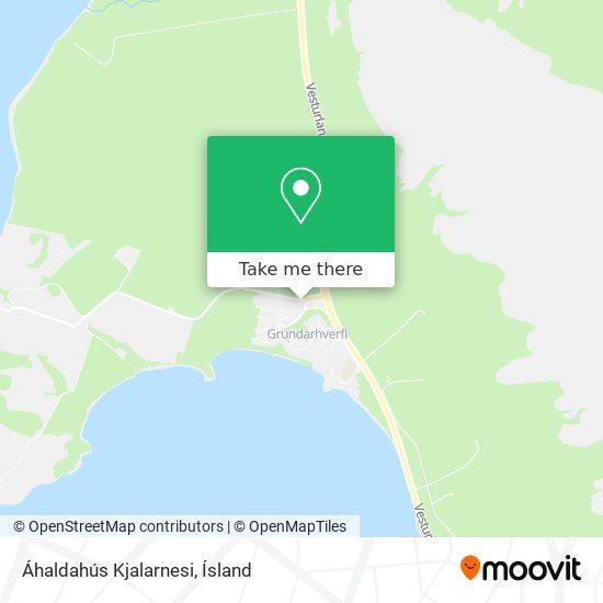 Áhaldahús Kjalarnesi map